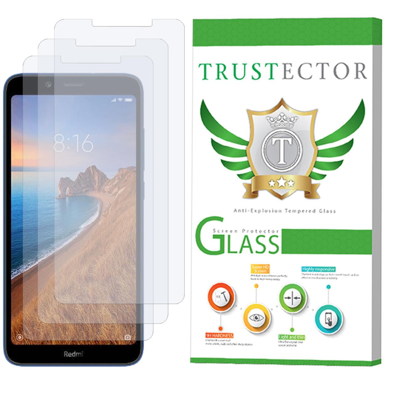محافظ صفحه نمایش تراستکتور مدل GLS مناسب برای گوشی موبایل شیائومی Redmi 7A بسته 3 عددی