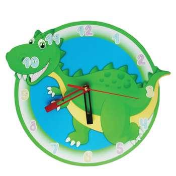 ساعت دیواری کودک طرح دایناسور
