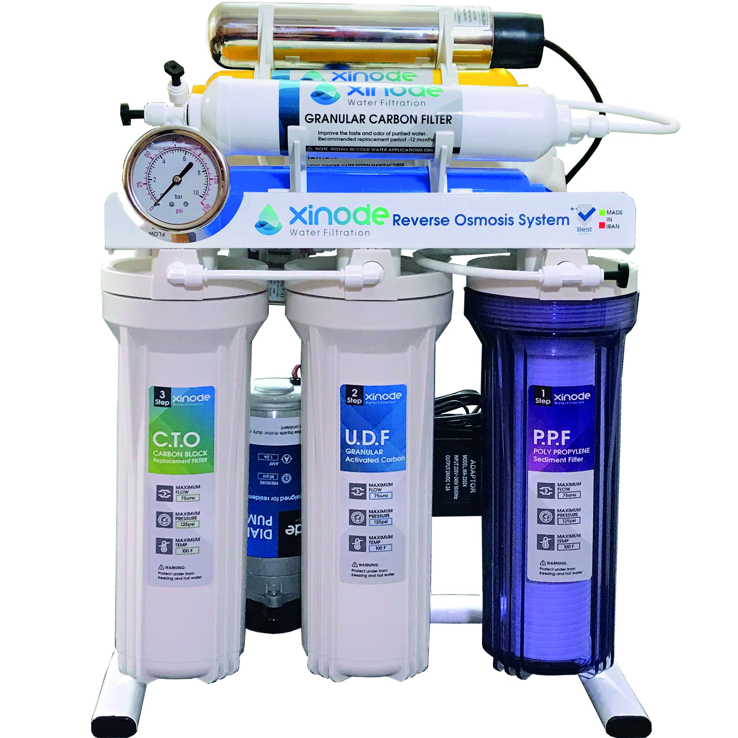 دستگاه تصفیه کننده آب زینود مدل AXS-610HB