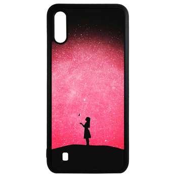 کاور طرح دختر کد 43177 مناسب برای گوشی موبایل سامسونگ galaxy a10