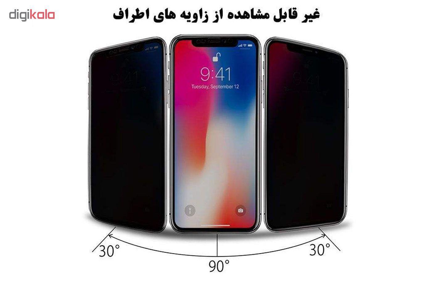 محافظ صفحه نمایش حریم شخصی گودزیلا مدل GGPS مناسب برای گوشی موبایل اپل iPhone XR بسته 2 عددی main 1 2
