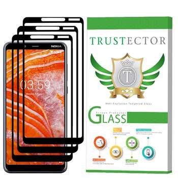 محافظ صفحه نمایش تراستکتور مدل GSS مناسب برای گوشی موبایل نوکیا 3.1Plus بسته 3 عددی