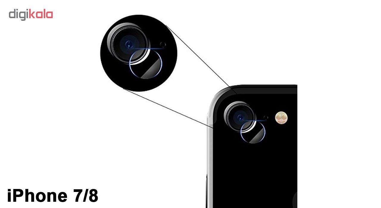 محافظ لنز دوربین هورس مدل UTF مناسب برای گوشی موبایل اپل iPhone 8 بسته سه عددی main 1 5