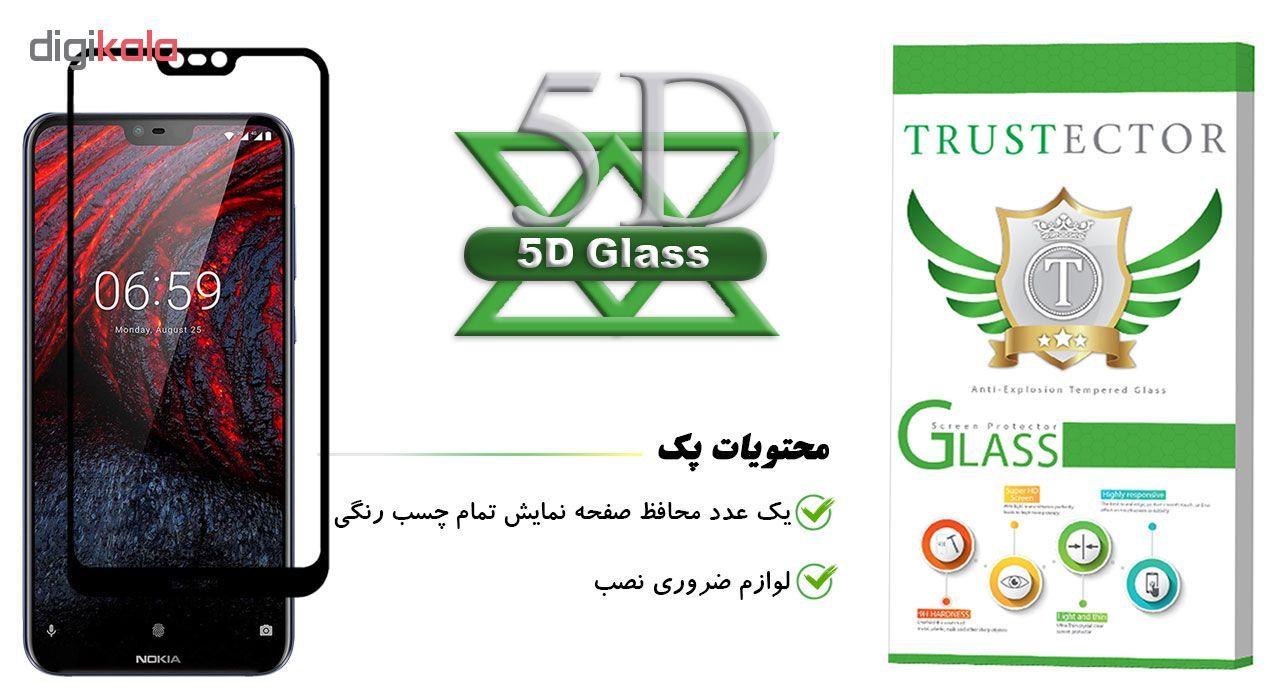 محافظ صفحه نمایش تراستکتور مدل GSS مناسب برای گوشی موبایل نوکیا X6 / 6.1 Plus main 1 1