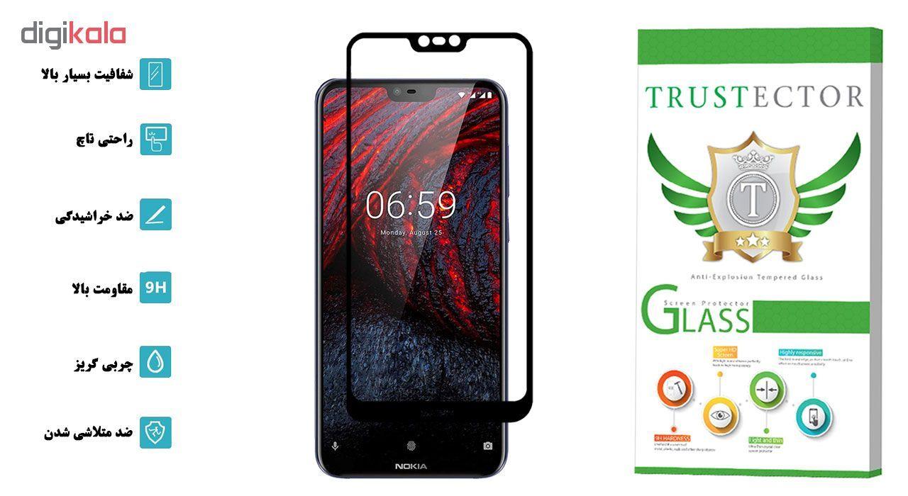 محافظ صفحه نمایش تراستکتور مدل GSS مناسب برای گوشی موبایل نوکیا X6 / 6.1 Plus main 1 2