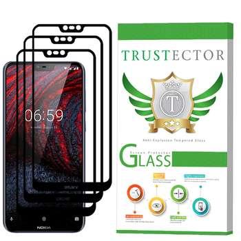 محافظ صفحه نمایش تراستکتور مدل GSS مناسب برای گوشی موبایل نوکیا X6 / 6.1 Plus بسته 3 عددی