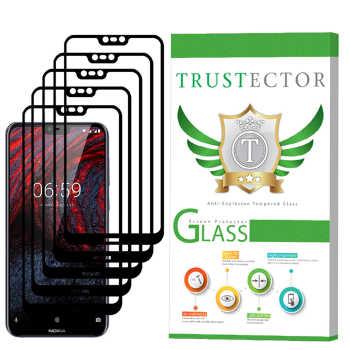 محافظ صفحه نمایش تراستکتور مدل GSS مناسب برای گوشی موبایل نوکیا X6 / 6.1 Plus بسته 5 عددی
