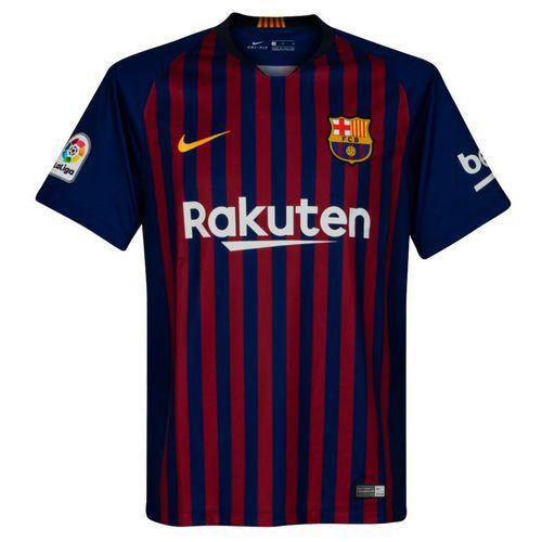 پیراهن ورزشی مردانه مدل بارسلونا 2018-19