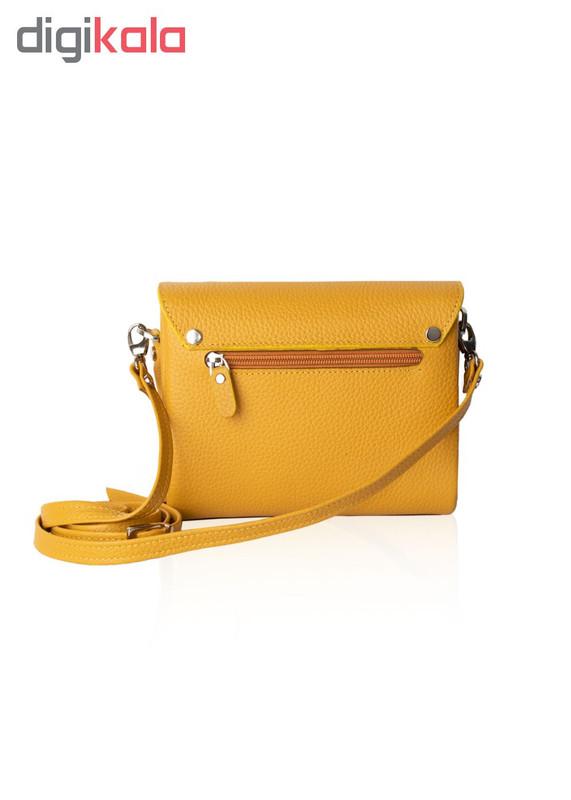 کیف دوشی زنانه چرم کروکو کد 7004072