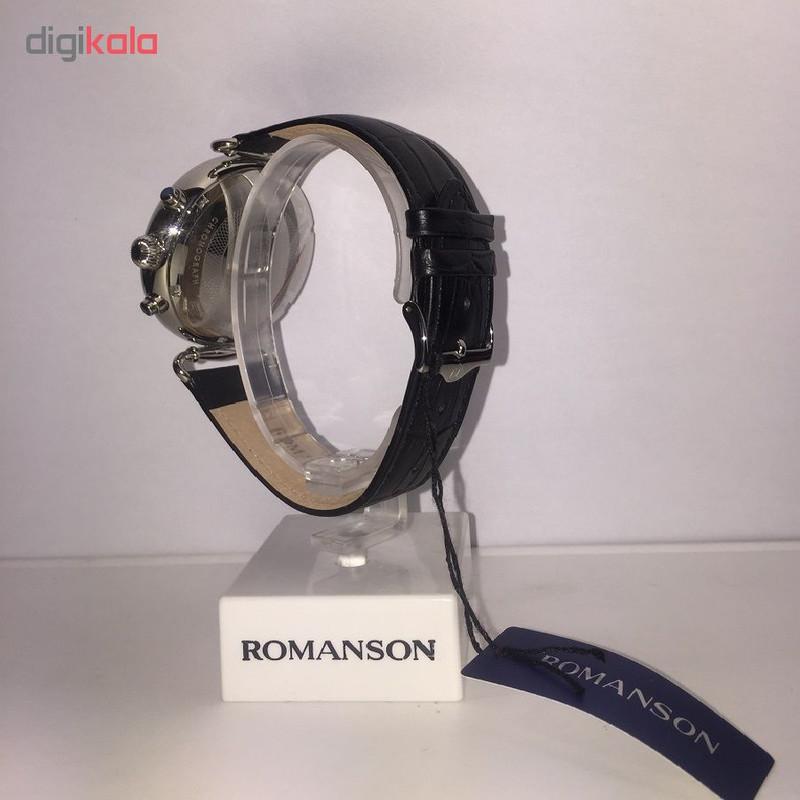 ساعت مچی عقربه ای مردانه رومانسون مدل TL7A13HMBWA3R5