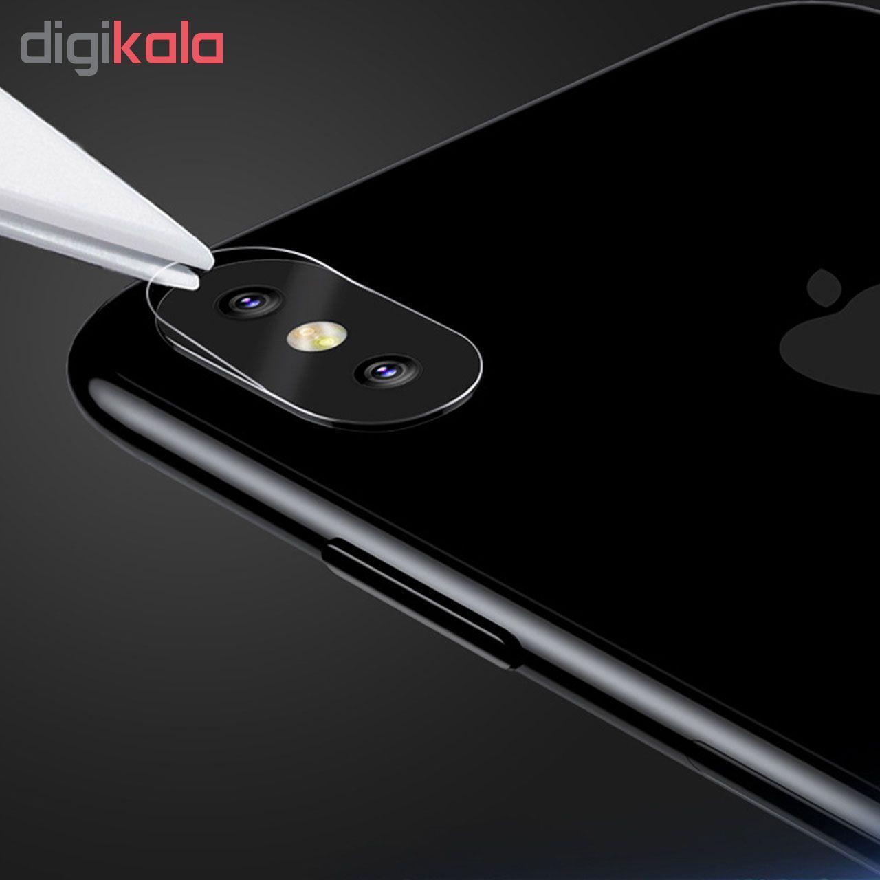 محافظ لنز دوربین هورس مدل UTF مناسب برای گوشی موبایل اپل iPhone 8 Plus بسته سه عددی  main 1 5