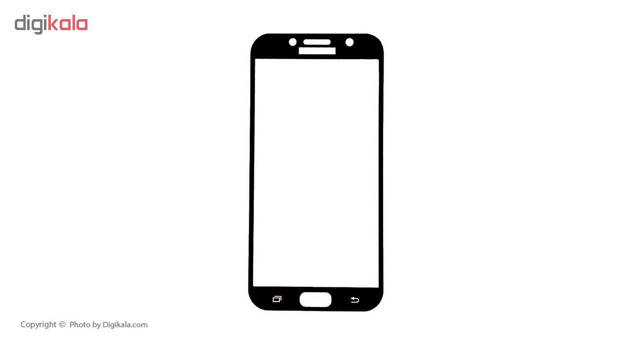 محافظ صفحه نمایش 3D موکوسون کد 205 مناسب برای گوشی موبایل سامسونگ Galaxy A7 2017 main 1 3
