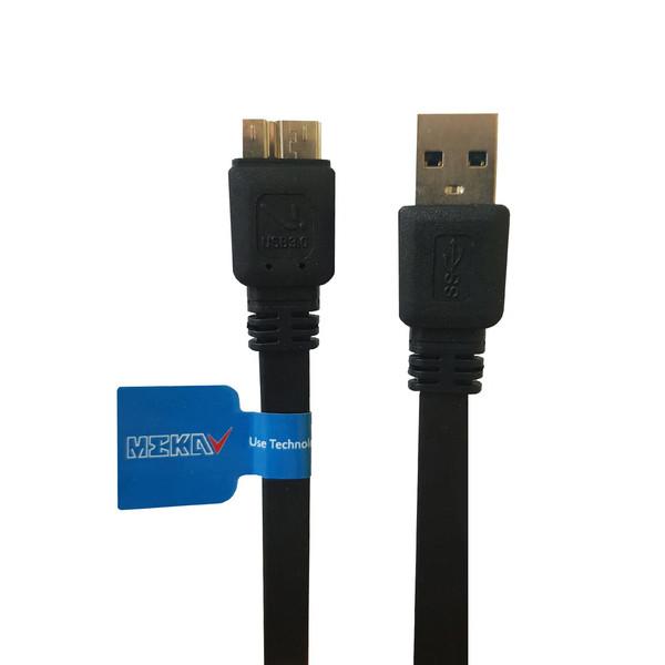 کابل تبدیل USB به Micro-B مکا مدل MCU45 طول 1 متر