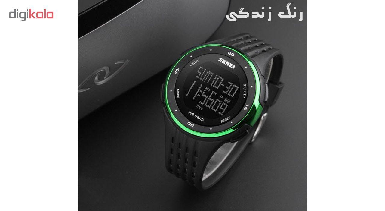 ساعت مچی دیجیتال اسکمی مدل 1219-D