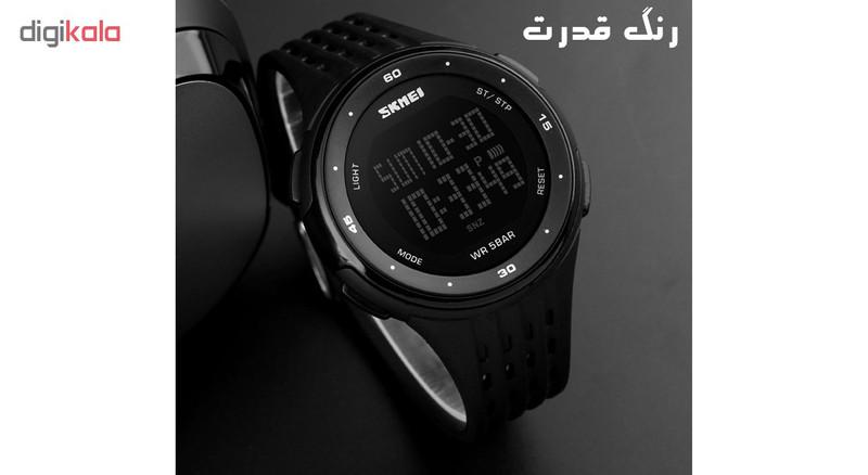 ساعت مچی دیجیتال اسکمی مدل 1219-E