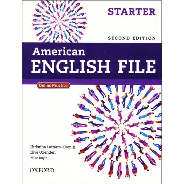 کتاب American English File Starter اثر جمعی از نویسندگان انتشارات Oxford