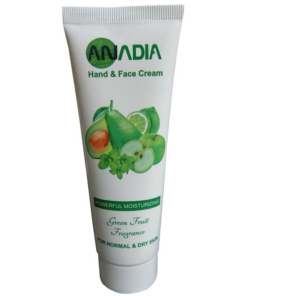 کرم مرطوب کننده آنادیا مدل Green Fruit حجم 90 میلی لیتر