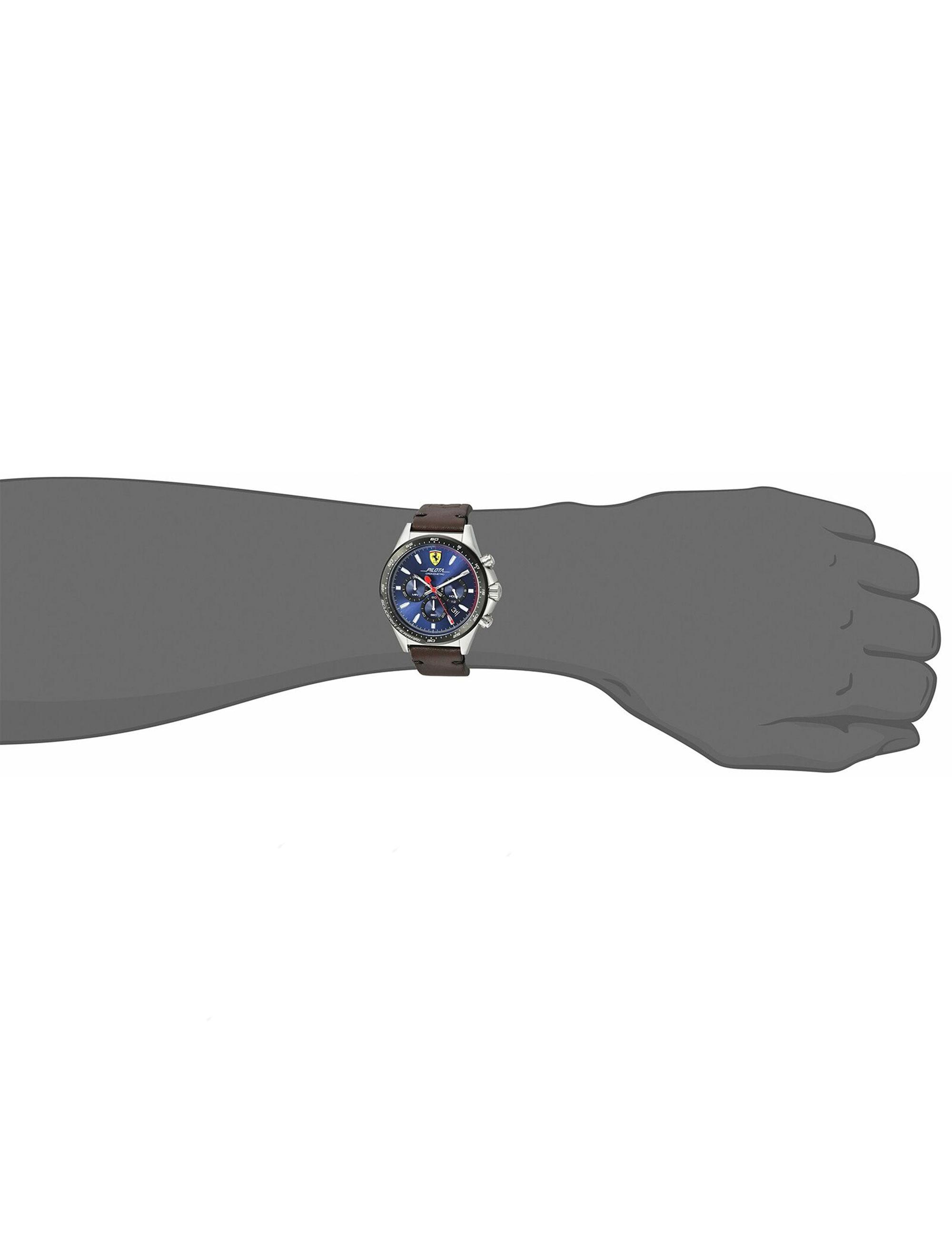 کد تخفیف                                      ساعت مچی عقربه ای مردانه فراری مدل 0830435