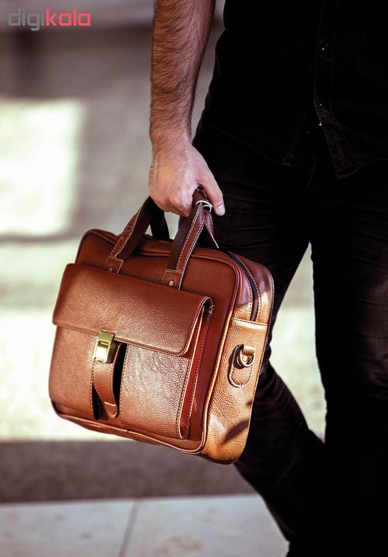 کیف اداری مردانه آدین چرم مدل DP1