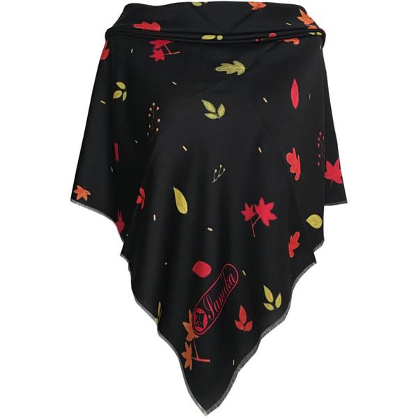 روسری زنانه سمیکا طرح برگ کد C298