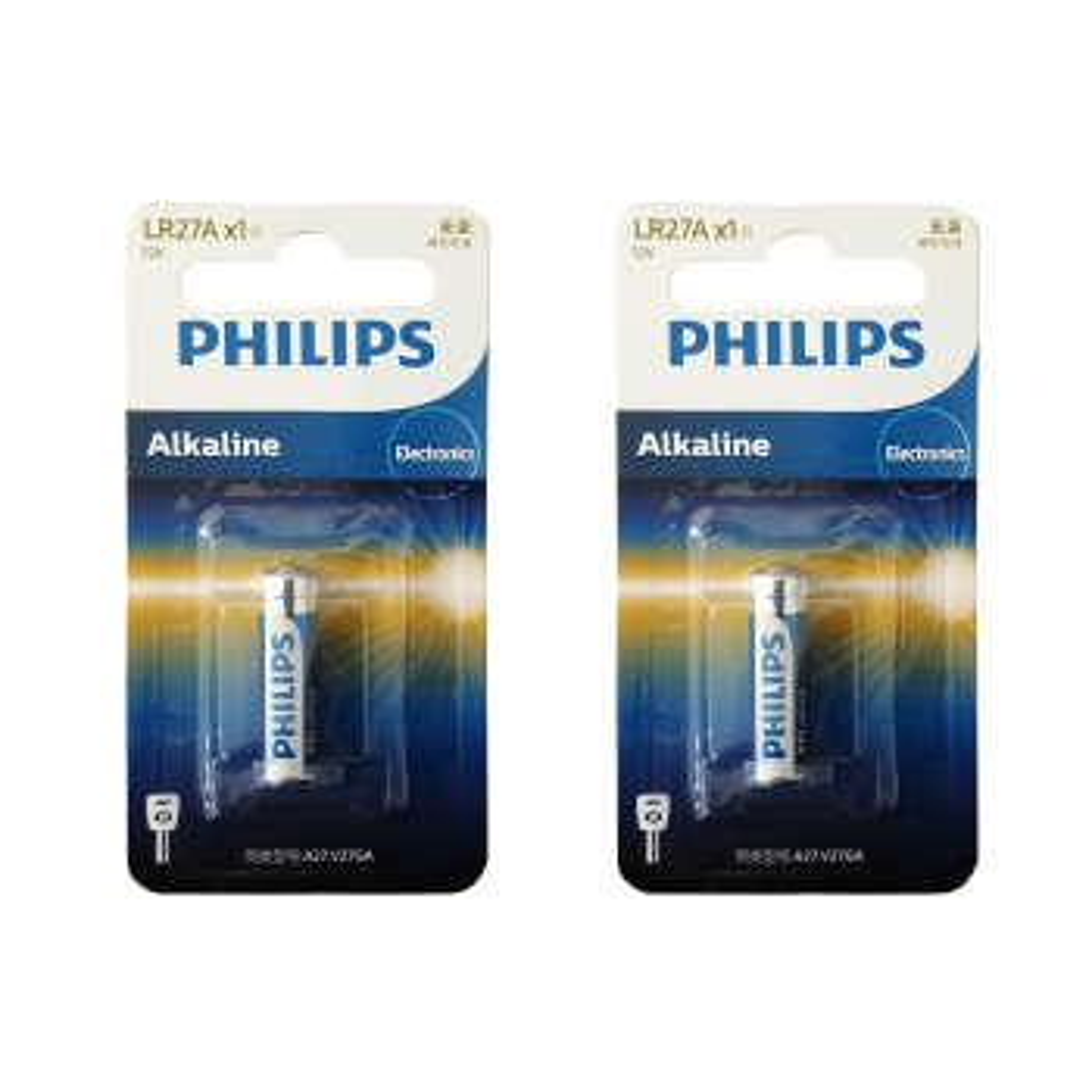 باتری 27A فیلیپس مدل LR27A1B بسته 2 عددی