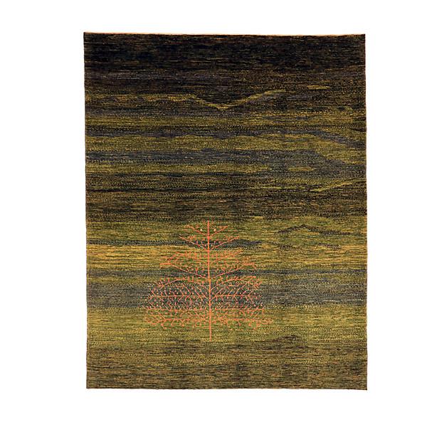 گبه دستبافت سه و نیم متری گالری نور کد H1956