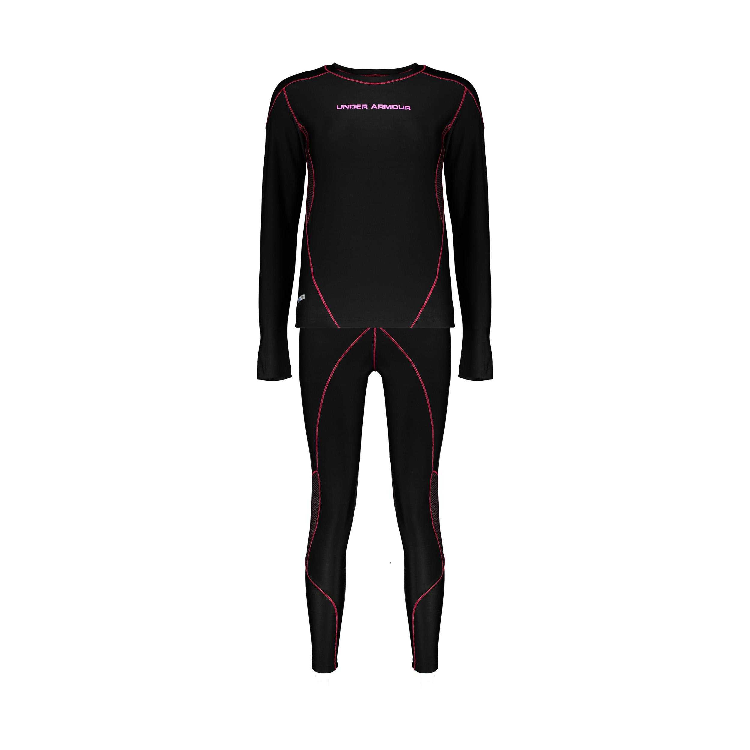 ست تی شرت و شلوار ورزشی زنانه آندر آرمور مدل cold gear کد 8440