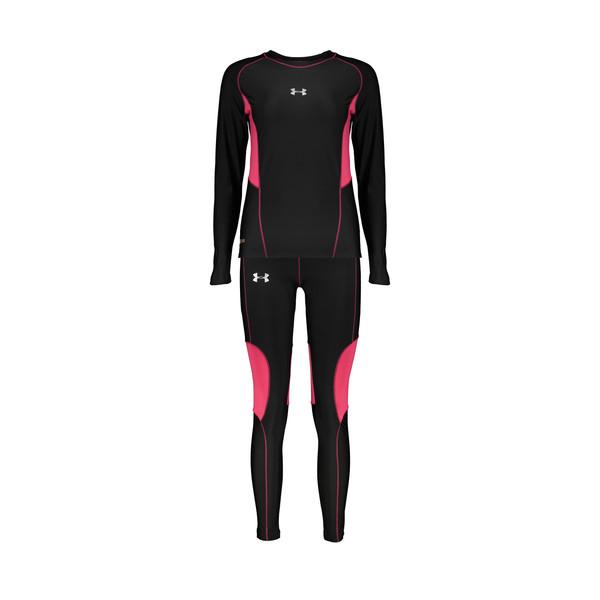 ست تی شرت و شلوار ورزشی زنانه آندر آرمور مدل cold gear کد 8442