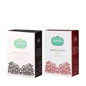 چای کله مورچه ای هل تشریفات مقدار 450 گرم مجموعه 2 عددی