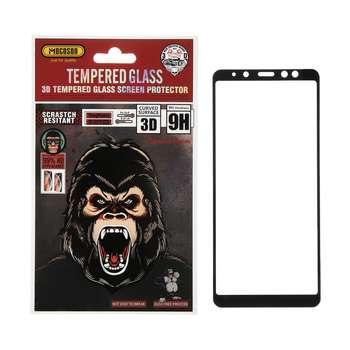 محافظ صفحه نمایش 3D موکوسون کد 202 مناسب برای گوشی موبایل سامسونگ A8 Plus 2018