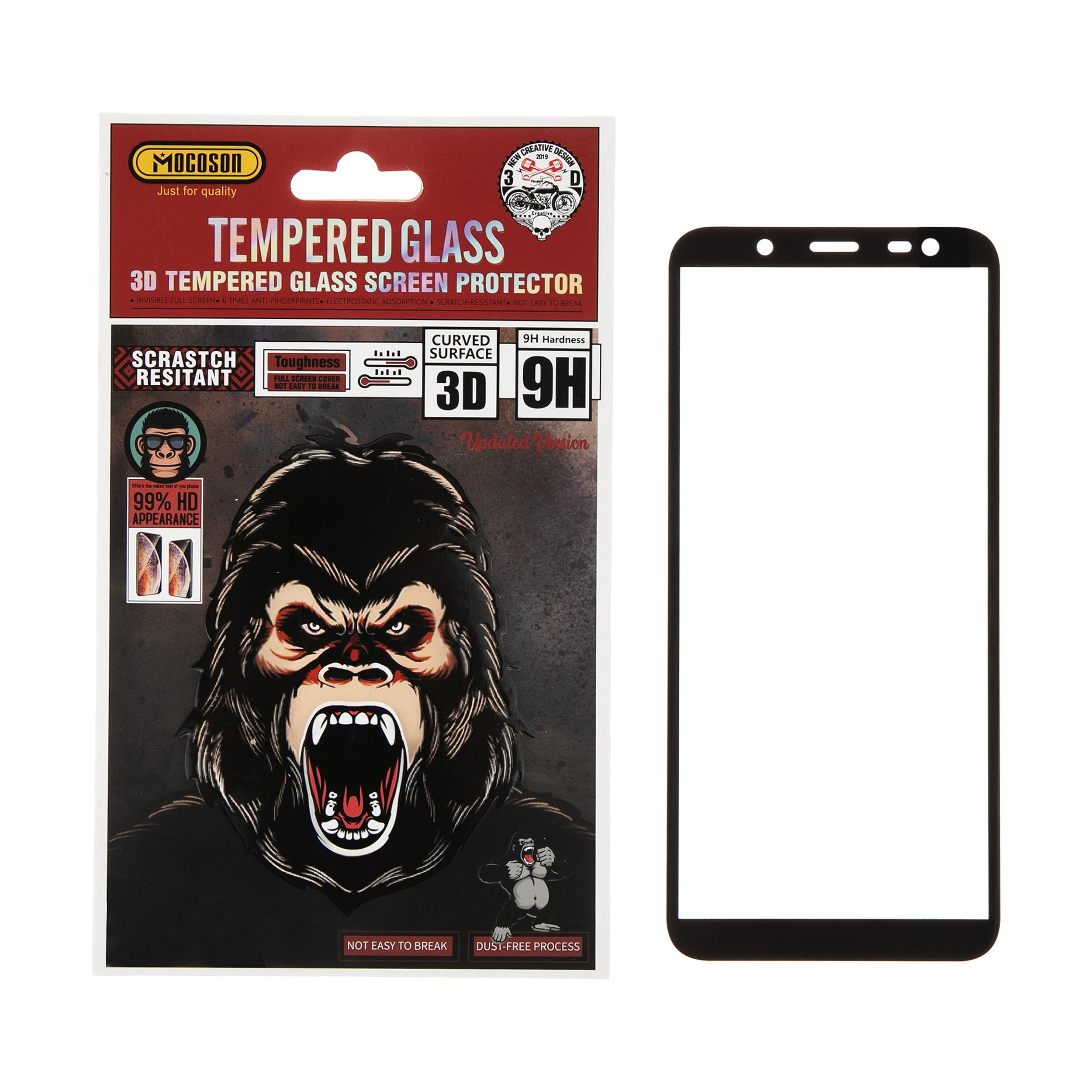 محافظ صفحه نمایش 3D موکوسون کد 302 مناسب برای گوشی موبایل سامسونگ J6 2018