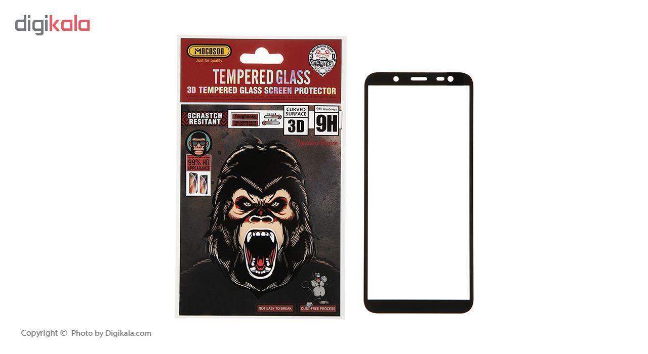 محافظ صفحه نمایش 3D موکوسون کد 302 مناسب برای گوشی موبایل سامسونگ J6 2018 main 1 1