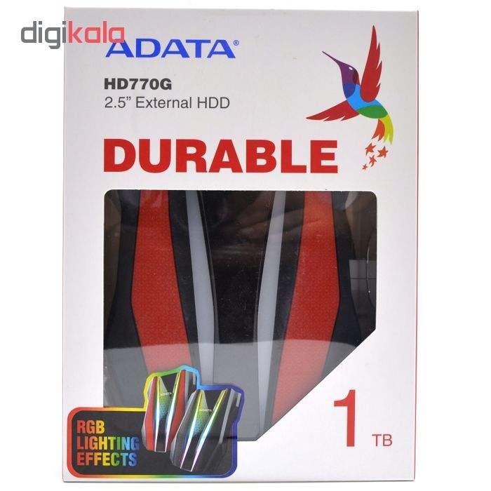 هارد اکسترنال ای دیتا مدل HD770G ظرفیت 1 ترابایت main 1 3