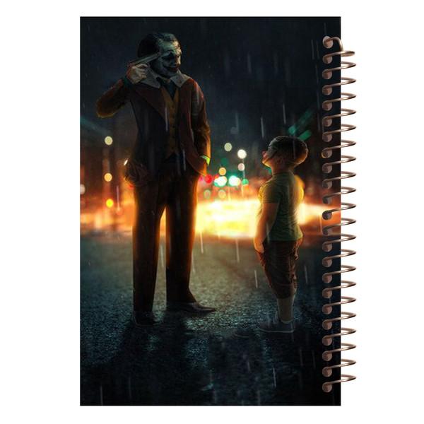 دفتر یادداشت آف تاب شهر طرح جوکر کد 4133