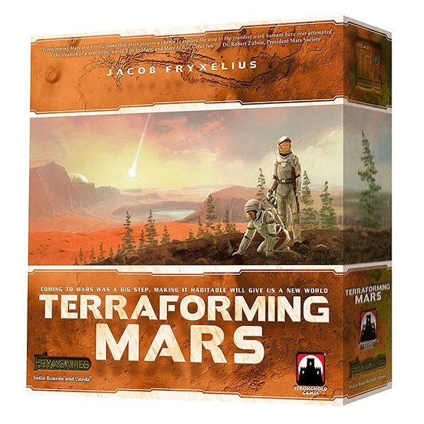 بازی فکری استرانگ هلدگیمز مدل Terraforming mars