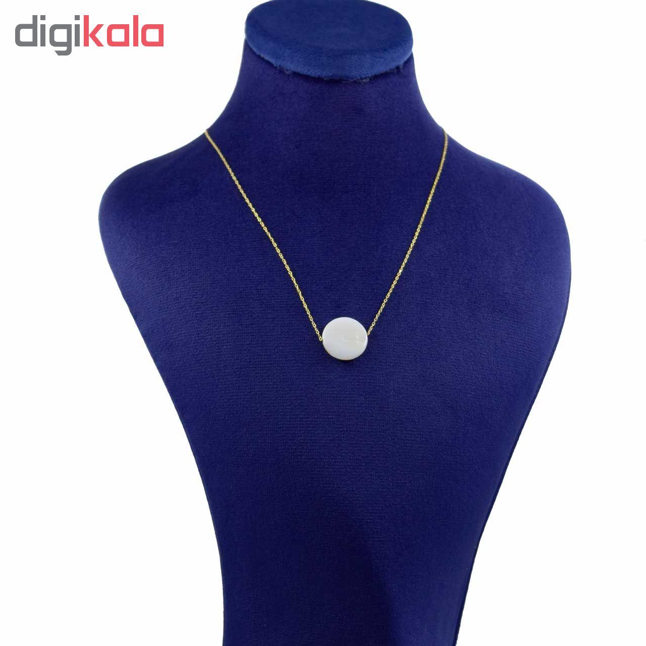گردنبند طلا 18 عیار زنانه کانیار گالری کد 24910