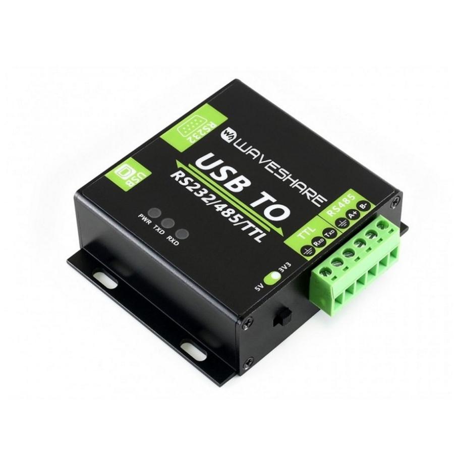 بررسی و خرید [با تخفیف]                                     مبدل صنعتی USB به سریال ویوشیر مدل RS485/RS232/TTL                             اورجینال