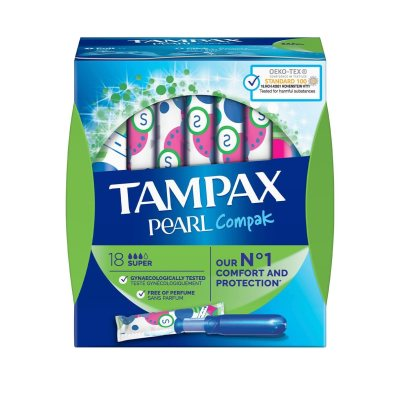 Photo of تامپون تامپکس مدل Pearl compak بسته 18 عددی