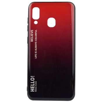 کاور مدل HEL20 مناسب برای گوشی موبایل سامسونگ Galaxy A20 / A30