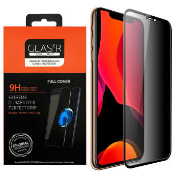 محافظ صفحه نمایش حریم شخصی مدل GLASTR مناسب برای گوشی موبایل اپل iPhone 11 Pro Max/iPhone XS Max