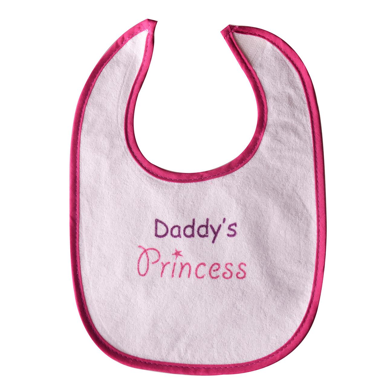 پیشبند نوزاد طرح Daddys Princess