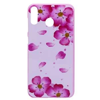کاور طرح Pink flowers مدل NKK-01 مناسب برای گوشی موبایل شیائومی Redmi 7