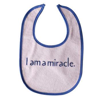 پیشبند نوزاد طرح I am a amiracle