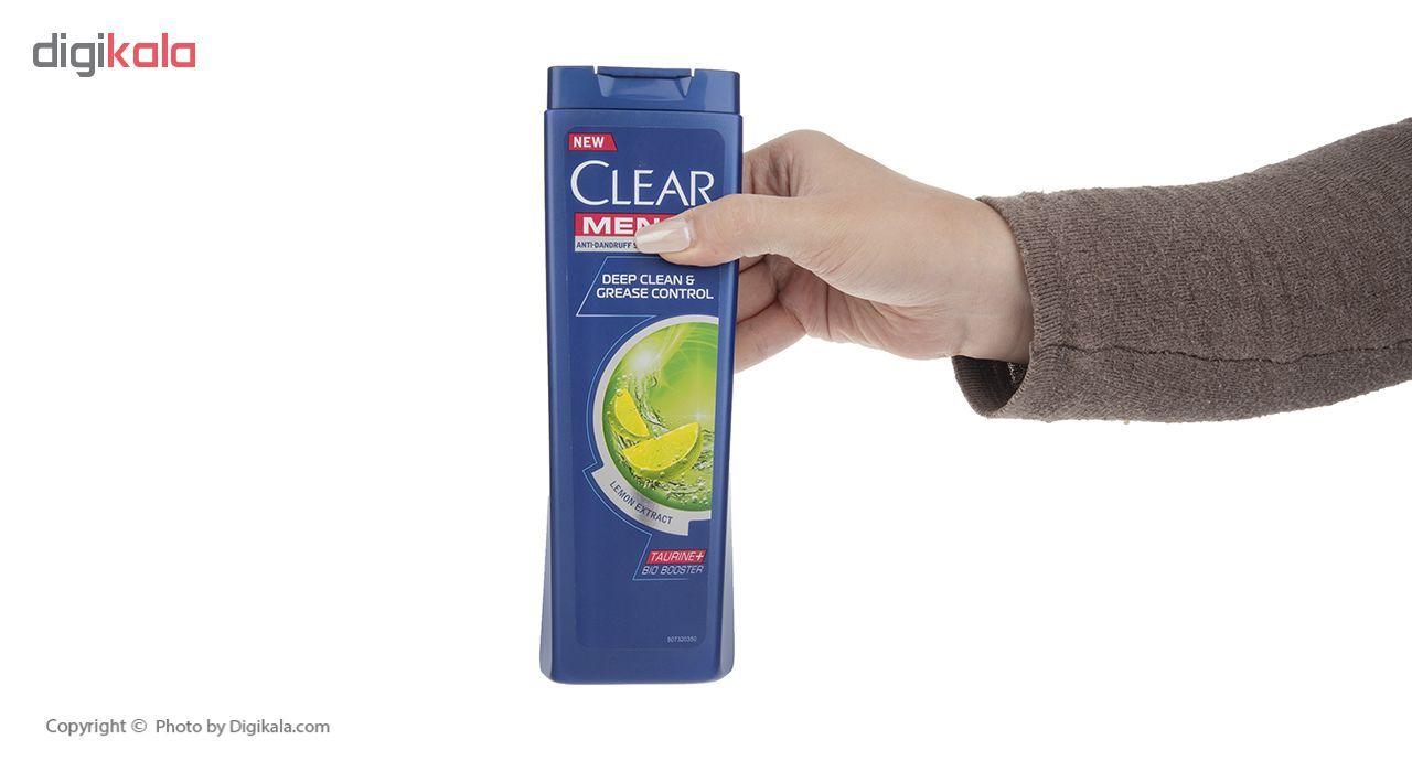 شامپو ضد شوره مردانه کلیر مدل Lemon Extract حجم 400 میلی لیتر main 1 4