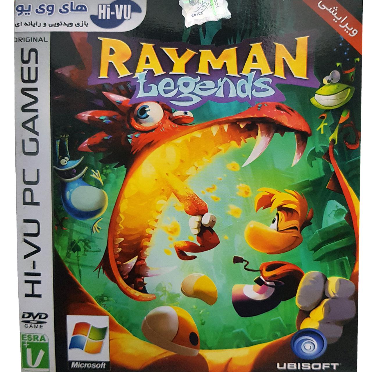 بازی Rayman Legends مخصوص PC