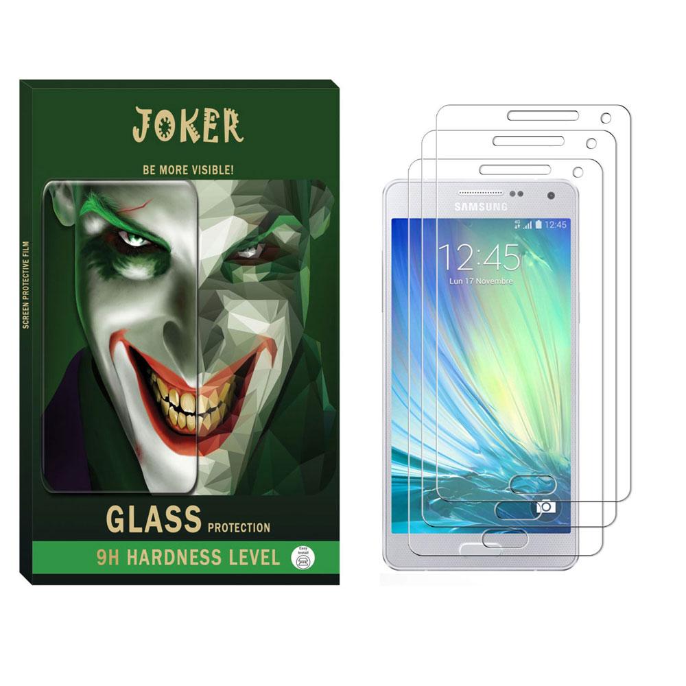 محافظ صفحه نمایش جوکر مدل SAD-01 مناسب برای گوشی موبایل سامسونگ Galaxy A5 2015 بسته 3 عددی