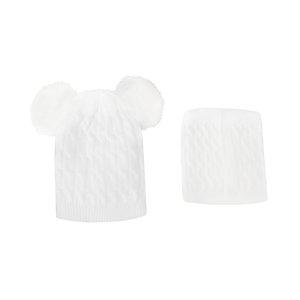ست کلاه و شال گردن بافتنی کد 20721-2P-SF
