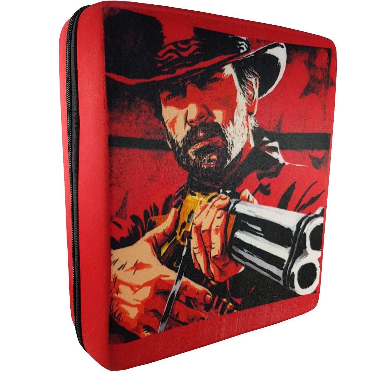کیف کنسول پلی استیشن 4 طرح Red Dead Redemption 2