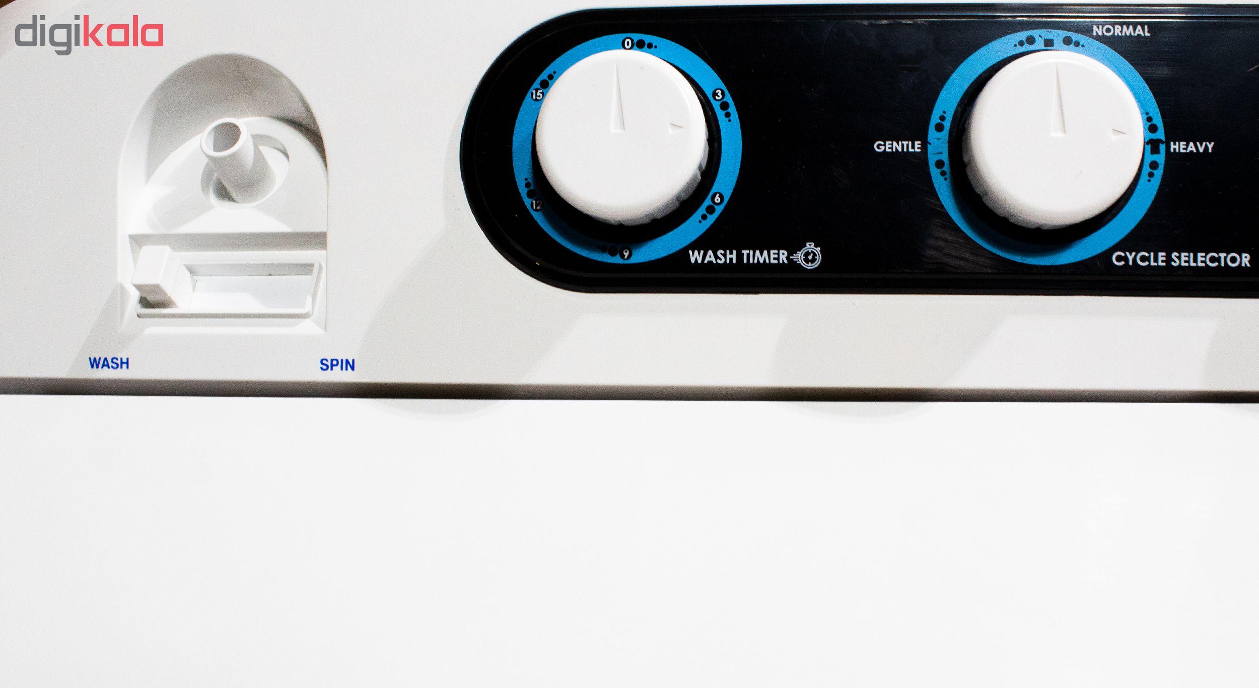 ماشین لباسشویی پاکشوما مدل PWT-1554AJ ظرفیت 15.5 کیلوگرم