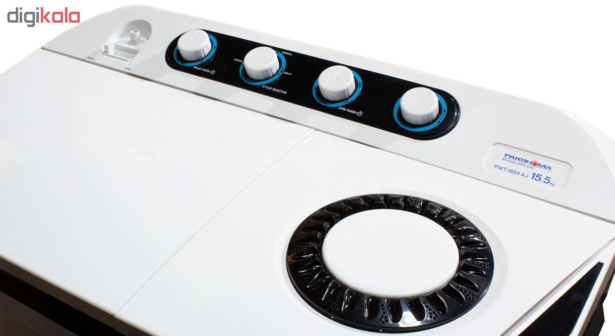 ماشین لباسشویی پاکشوما مدل PWT-1554AJ ظرفیت 15.5 کیلوگرم main 1 4